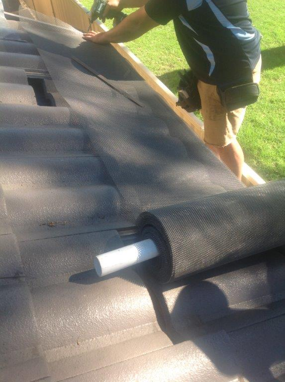 Gutter Guard Installation